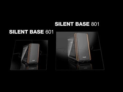 Корпус be quiet! SILENT BASE 601 BLACK BG026