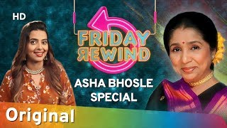 Friday Rewind with RJ Adaa | Asha Bhosle Special | Best Of Asha Bhosle Hit Songs | #FridayRewind