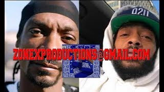 """Snoop Dogg WARNS ALL Bloods After Nipsey Hussle Death""""this Gotta Stop""""tells Crips Unite!"""