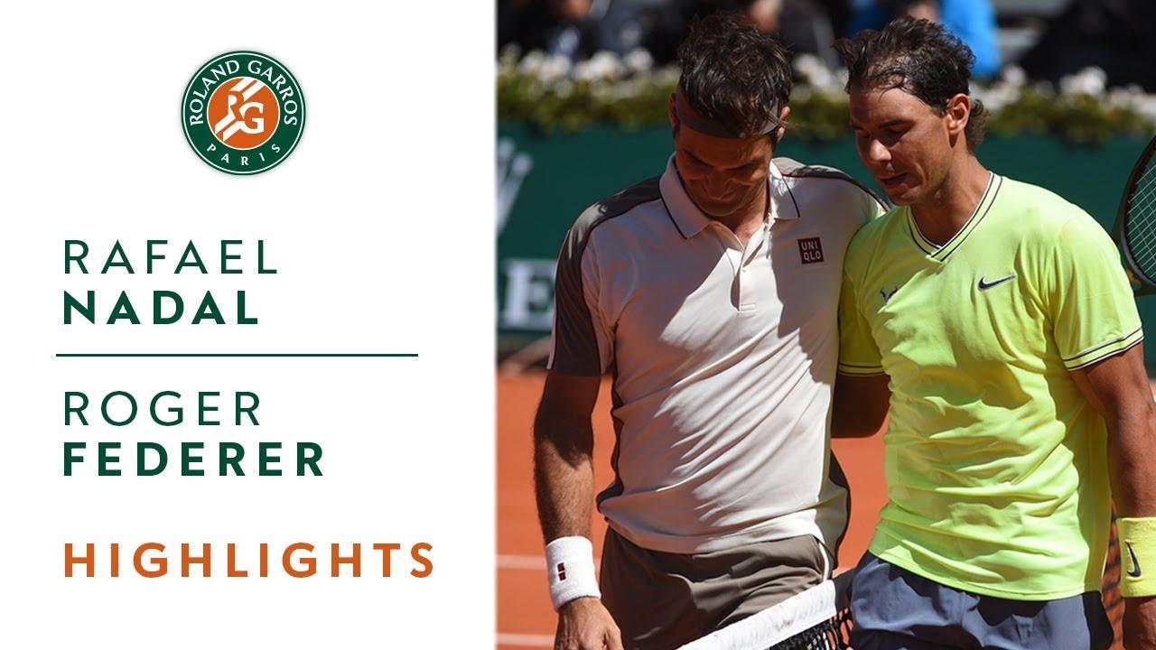 Обзор матча Надаль - Федерер в полуфинале Ролан Гаррос (ВИДЕО)