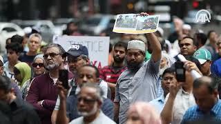 ABD ve Kanada'da Arakan protestosu