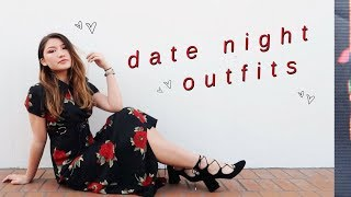 DATE NIGHT OUTFIT IDEAS // Valentines Day Lookbook