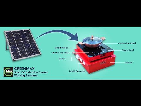 Solar Cooker Inbuilt Battery