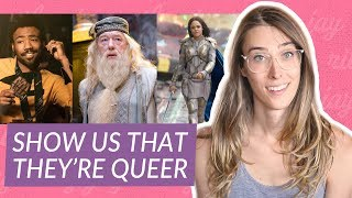 It's not queer representation if it isn't in the movie | Riley J. Dennis
