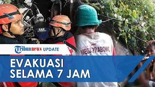 Detik-detik Evakuasi Pria yang Terjepit Batu Selama 10 Jam, Genset Mati, Sempat Makan dan Diinfus