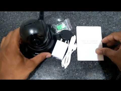 Escam cctv cameraunboxing