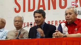 MGTV LIVE - Sidang Media Ahli Majlis Tertinggi UMNO di Menara Dato' Onn, PWTC