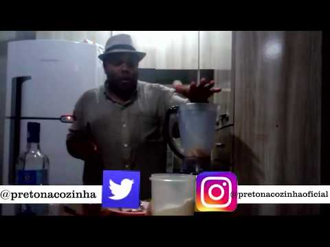 Como fazer Caipirinha de banana (Caipirosca) | Preto na cozinha|carnaval