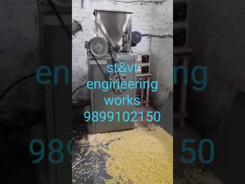 ST&VT  Corn Puff  Extruder Machine