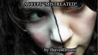 "ACCEPT - ""Mistreated"" (with lyrics) - STOP SEXUAL ABUSE !"