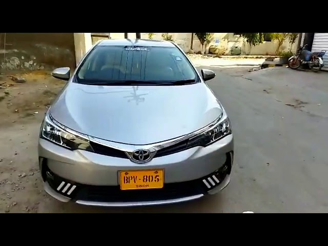 Toyota Corolla GLi Automatic 1.3 VVTi 2018 for Sale in Karachi
