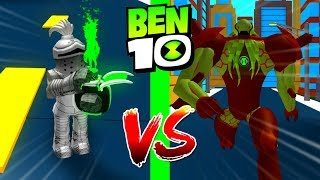 Roblox Ben 10 VS Vilgax Roblox Ben 10 Arrival of Aliens