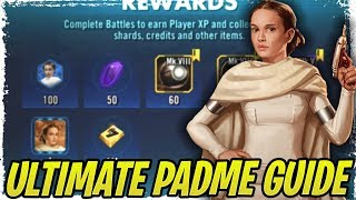 Ultimate Padme Guide! Separatist Farming/Strategy Guide and How to Beat Malak with Padme!  | SWGoH