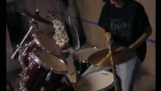 Dir en grey- Riyuu (drum cover)