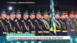 King Salman & Putin eye energy, arms deals