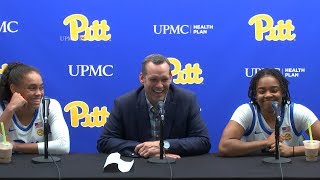 Pitt Women's Basketball | Post-game Press Conference vs Central Connecticut State