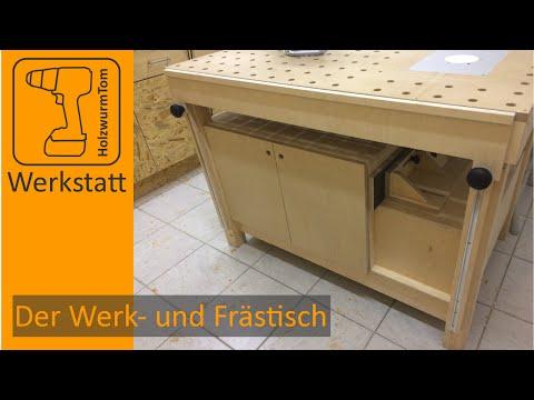 Der Werk- und Frästisch - Das Zentrum in der Werkstatt /Multifuctional workbench router table