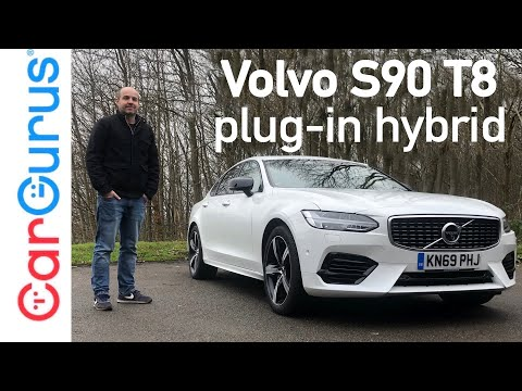 2020 Volvo S90 T8 Plug-in Hybrid Review: Brilliant, baffling or a bit of both?   CarGurus UK