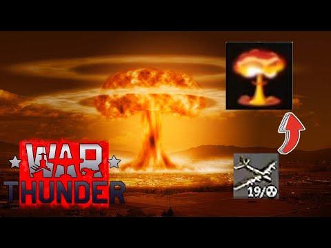 Стало известно как вызвать Ядерный удар в War Thunder