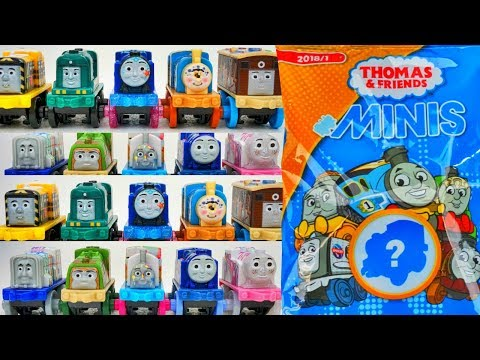 THOMAS AND FRIENDS MINIS 2018 SERIES 1 BLIND BAGS NEW TANK ENGINE TRAINS RAILWAY COLLECTION