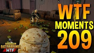 PUBG Daily Funny WTF Moments Highlights Ep 209 (playerunknown