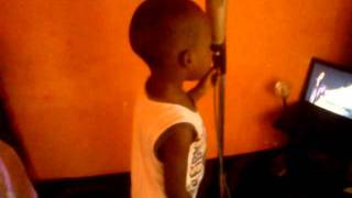a child singing africa realize