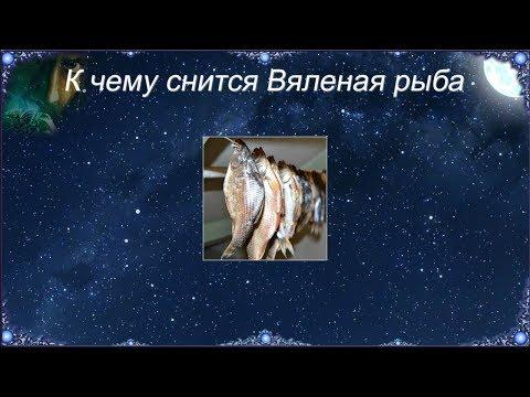 К чему снится Вяленая рыба (Сонник)