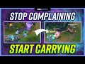 STOP Complaining and START Carrying LOW ELO ADCs! - Support Guide