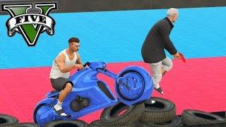 GTA V Online: PARKOUR vs MOTOS 🛵 - É POSSÍVEL JOGAR?!