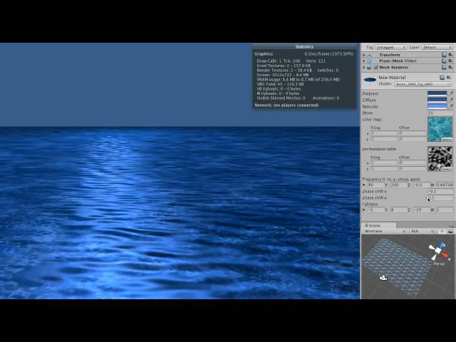 Unity3d Shader Generating Water unity tutorial a practical intro to