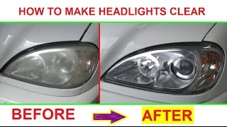 Download Youtube: How to make headlight clear and shiny like new! Demonstrated on Mercedes W163 ML320