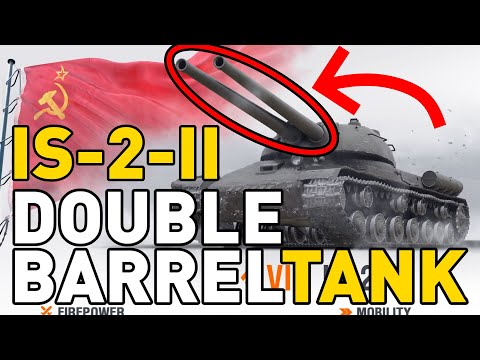 IS-2-II DOUBLE BARREL TANK PREVIEW - World of Tanks