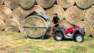 Kiwi Bale Feeders - Moving your feeder
