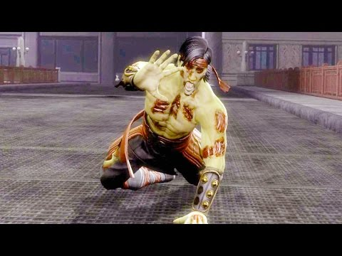 Mortal Kombat 9 - All Stage Fatalities on Zombie Liu Kang Costume Skin Mod 4K Ultra HD Gameplay Mods