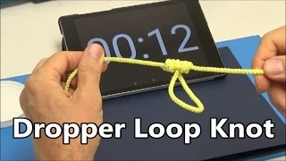 How to tie the Dropper Loop Knot under 30 seconds | Popular Fishing Knots