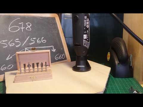 DREMEL 4000 con accessori (678, 565/566 ) con utensili 560, 561, 562, 660.