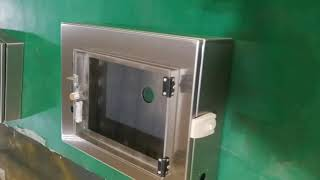 Stainless Steel Electrical Enclosure Manufacturer -KDM Steel