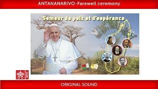 Pope Francis-Antananarivo- Departure Ceremony 2019-09-10