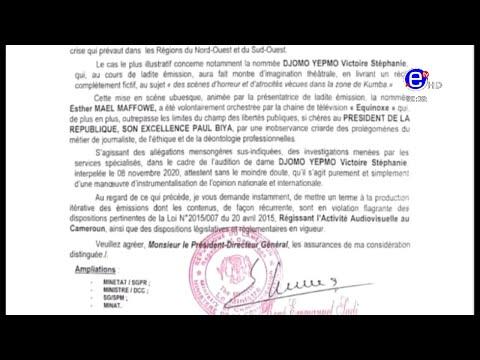 Replay du Journal de 20h00 du Vendredi 20/11/2020 d'Equinoxe Tv - Stéphanie Djomo (Vidéo)