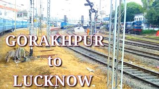 preview picture of video 'A complete journey 22531 GORAKHPUR to LUCKNOW jn.'