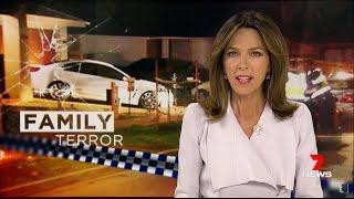 Seven + Nine News. Family Terror. (Eight Sudenese Attack Family. Rockbank)