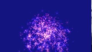 Звездный фейерверк - Footage free - 000012