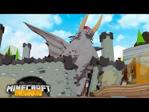 DRAGON CASTLE CRUSHERS! - Minecraft Dragons S2