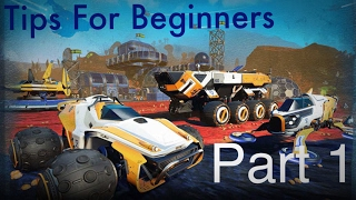 No Man's Sky - Pathfinder 1.24 - Tips for Beginners - Part 1
