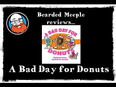 Bearded Meeple reviews A Bad Day for Donuts