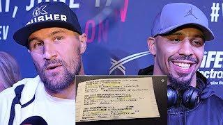 Ковалев – Уорд: стали известны гонорары боксеров за бой