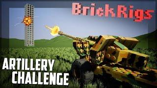 ARTILLERY TOWER DEFENSE! - Brick Rigs Multiplayer Challenge Gameplay