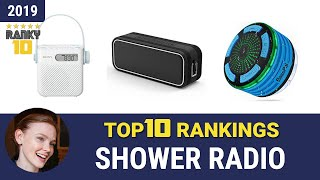 Best Shower Radio Top 10 Rankings, Review 2019 & Buying Guide