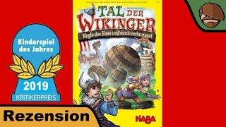 Tal der Wikinger (Kinderspiel des Jahres 2019) - Brettspiel - Review