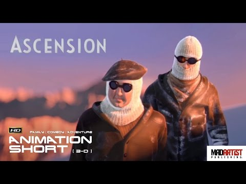 "CGI 3D Animated Short Film ""ASCENSION"" Funny Award Winning Animation"